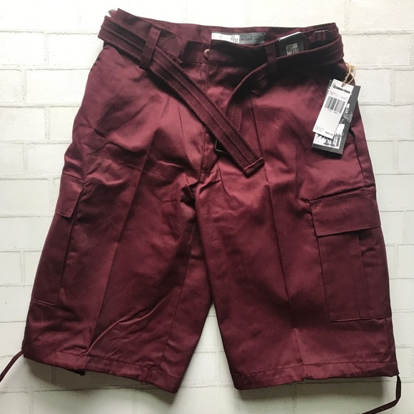 d626d0cafb Regal Wear Shorts | New Cargo 6cp04 Burgundy Belt | Poshmark